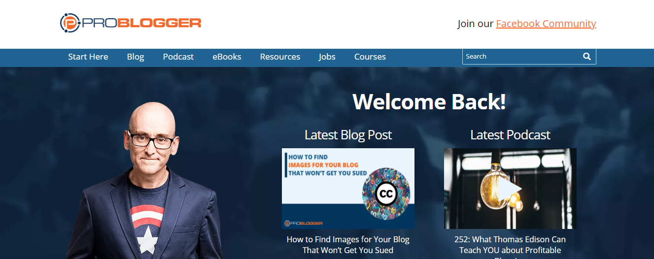 Problogger begginers site for newbie freelancers