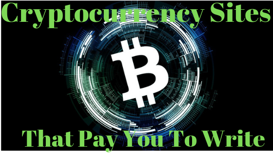 Cryptocurrency sites that pay writers