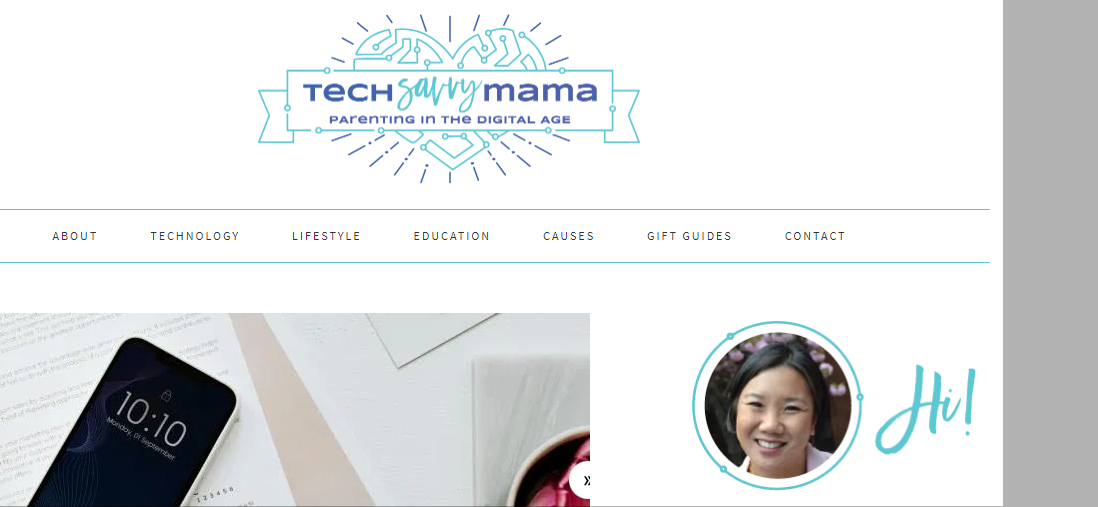 Tech savvy mama blog