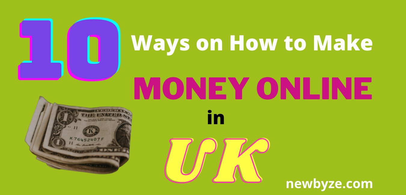 Earn money online UK