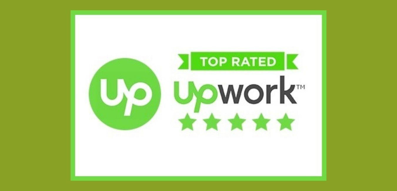 Top Rated Upwork Badge